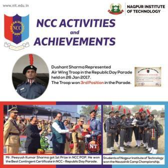 Glimpses of NIT Achievements